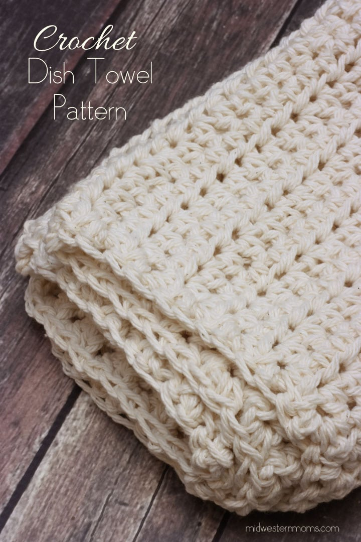 Midwestern Moms Crochet Dish Towel - The Birch Cottage