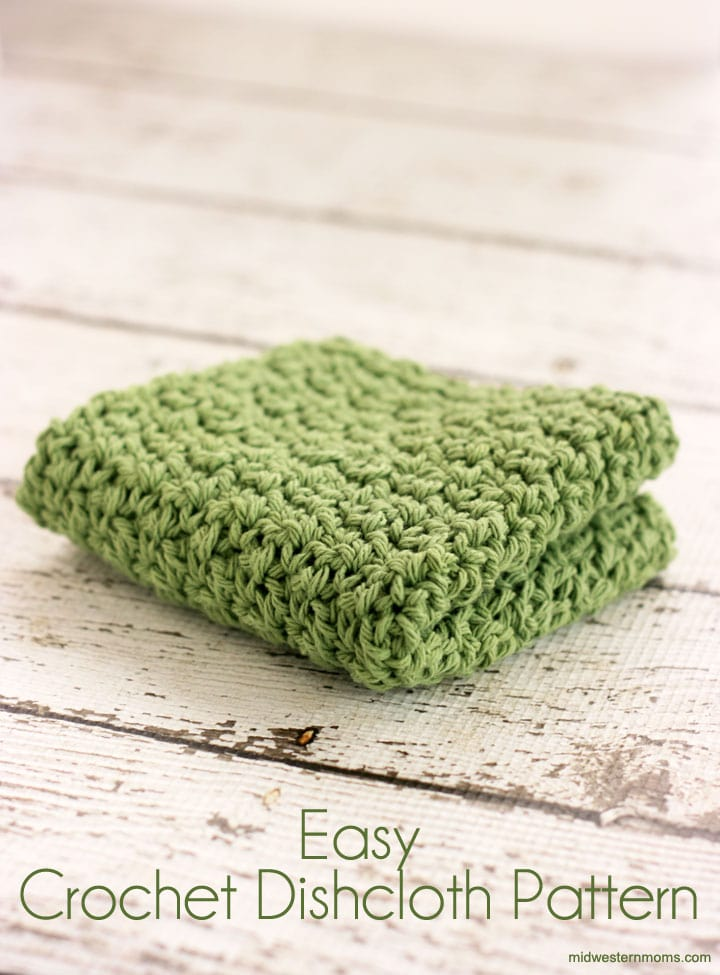 Midwestern Moms Easy-Crochet-Dishcloth