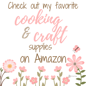 The Birch Cottage Shop on Amazon - where you'll find all my favorite cooking and crafting tools and accessories!