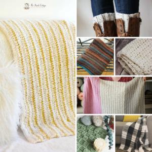 Learn to Crochet: 7 Easy Half Double Crochet Patterns