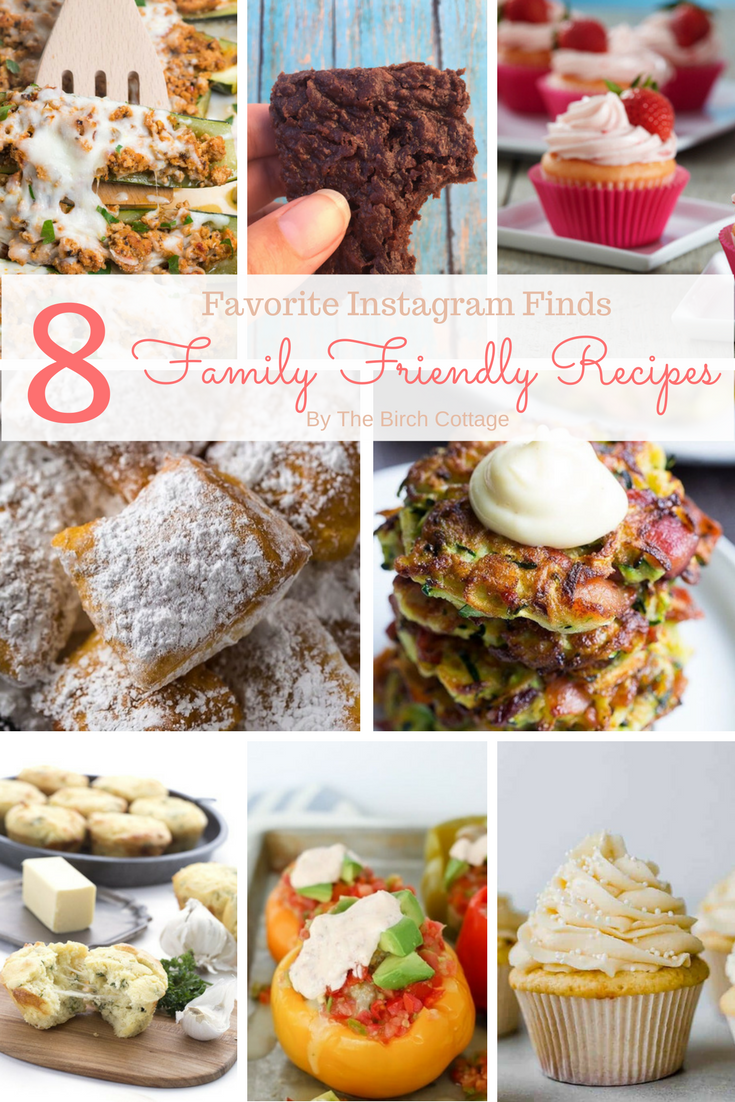 8 Family friendly recipes found on Instagram