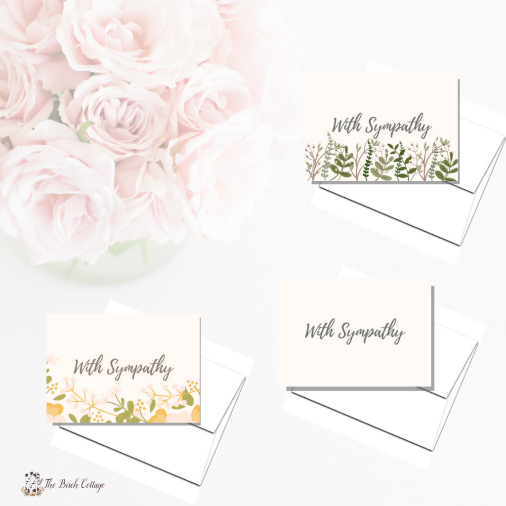 image relating to Printable Sympathy Cards identified as A package of contentment some heartbreaking information with printable