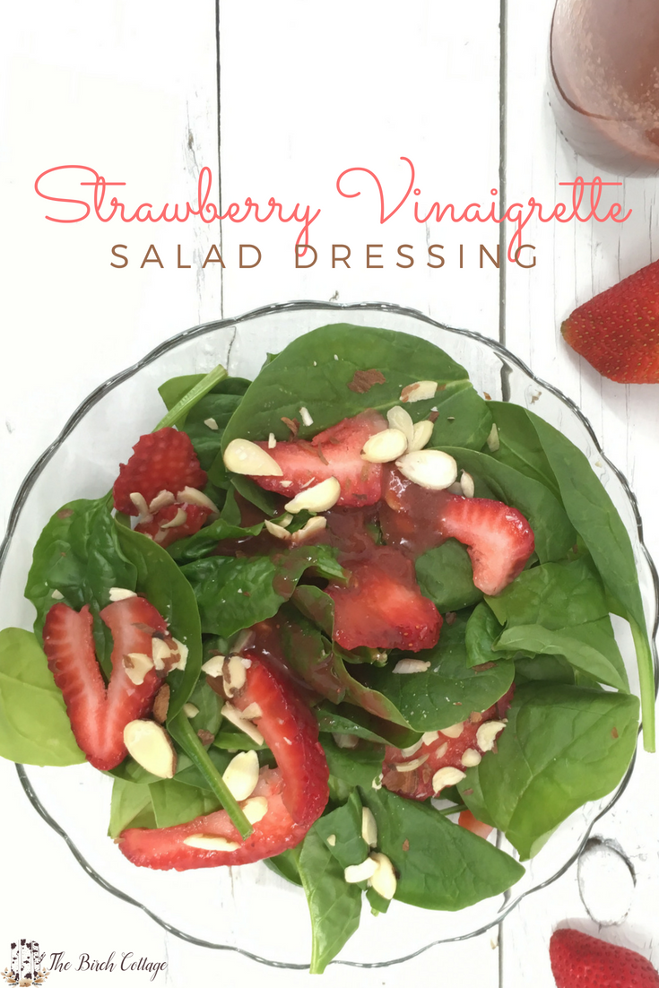 Strawberry Vinaigrette Dressing by The Birch Cottage