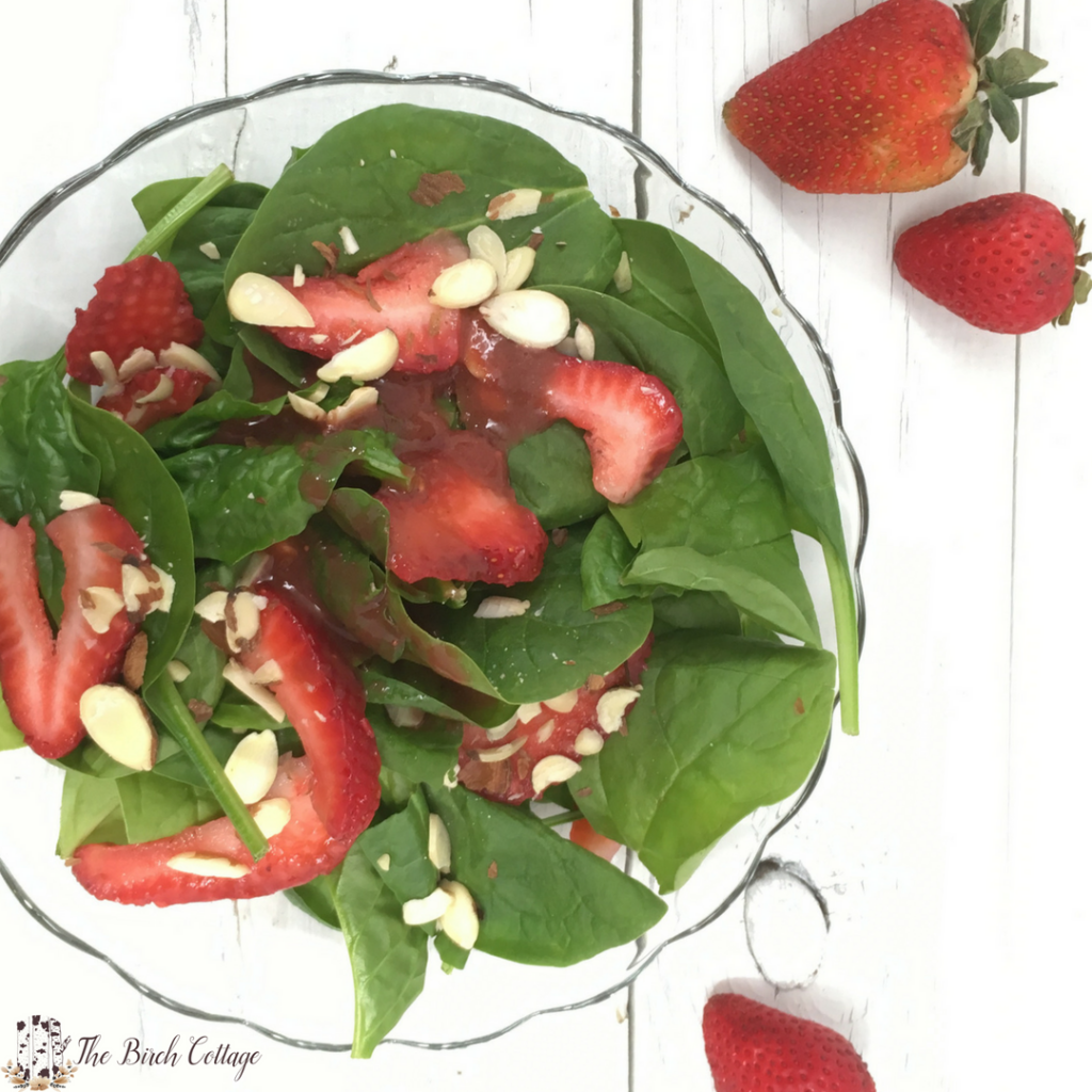 Strawberry Vinaigrette Salad Dressing