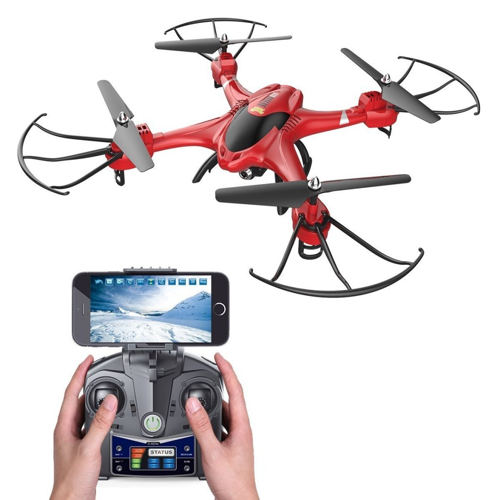Father's Day Gift Ideas: Remote Control Live View Drone