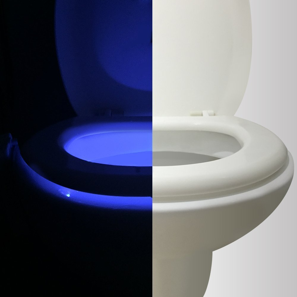 Father's Day Gift Ideas: Motion Sensor Toilet Night Light