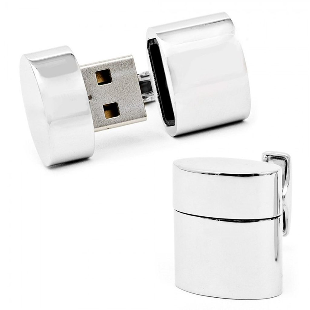 Father's Day Gift Ideas: USB Cuff Links