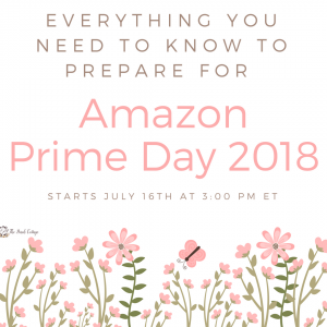 Amazon Prime Day 2018 by The Birch Cottage