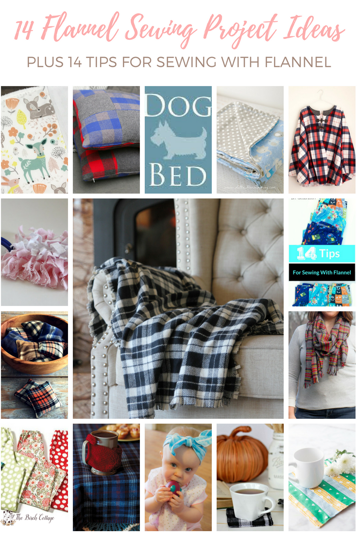 14 Flannel Sewing Project Ideas by The Birch Cottage