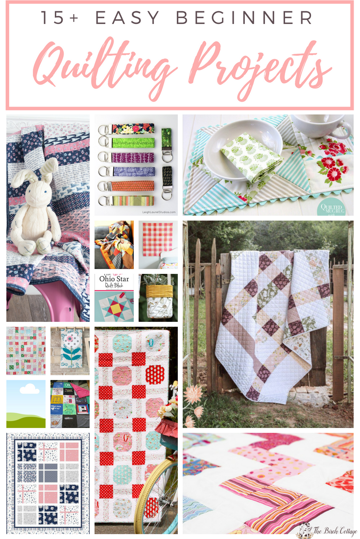 Beginner Quilting Project Ideas by The Birch Cottage