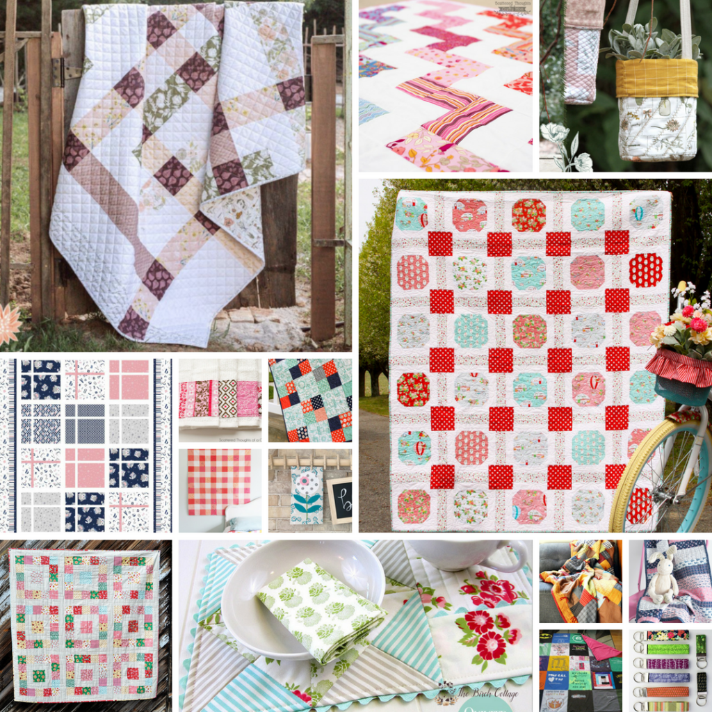 15 Easy Beginner Quilting Projects by The Birch Cottage