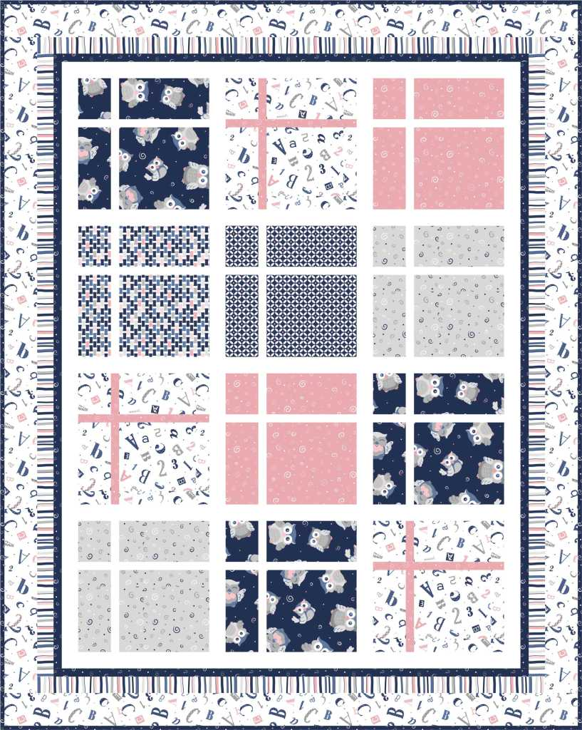 Beginner Quilting Project Ideas - Baby Boutique Quilt Pattern by Ivory Spring