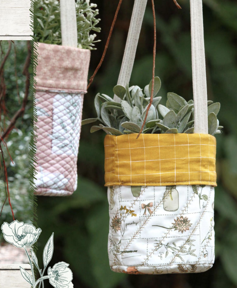 Beginner Quilting Project Ideas - Fabric Buckets