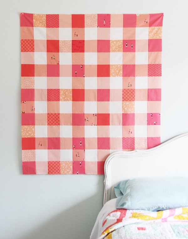 Beginner Quilting Project Ideas - Gingham Quilt