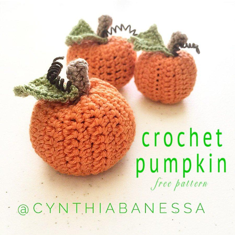 Crochet Pumpkin by Cynthia Banessa