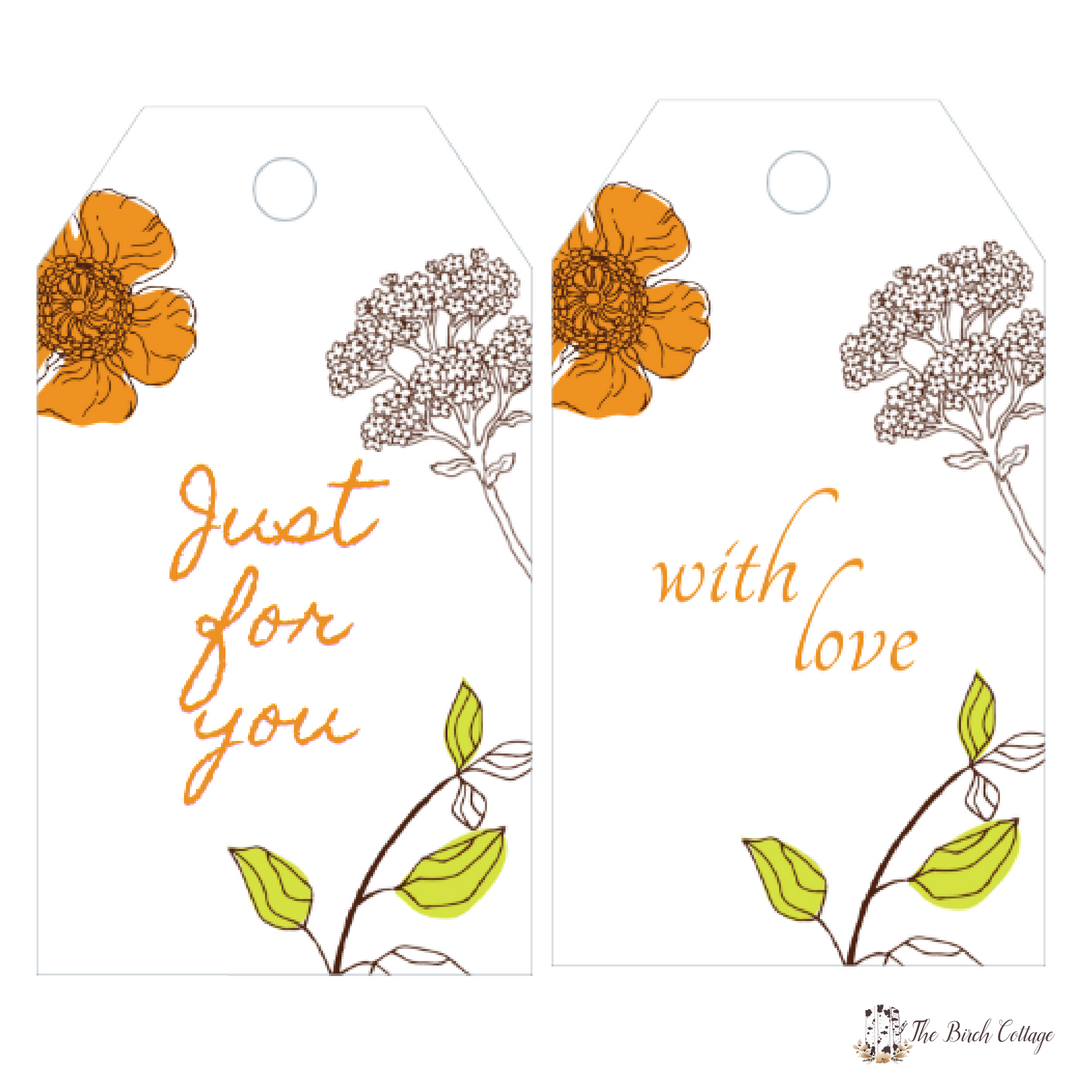 Just for You - Avery 22802 - Gift Tags by The Birch Cottage