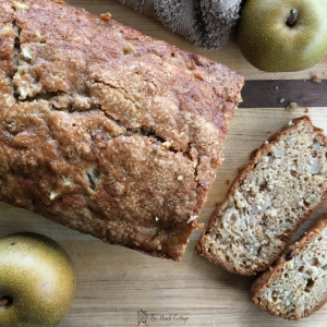 Pear Bread Recipe with Fresh Asian Pears (& Printable Recipe Cards)