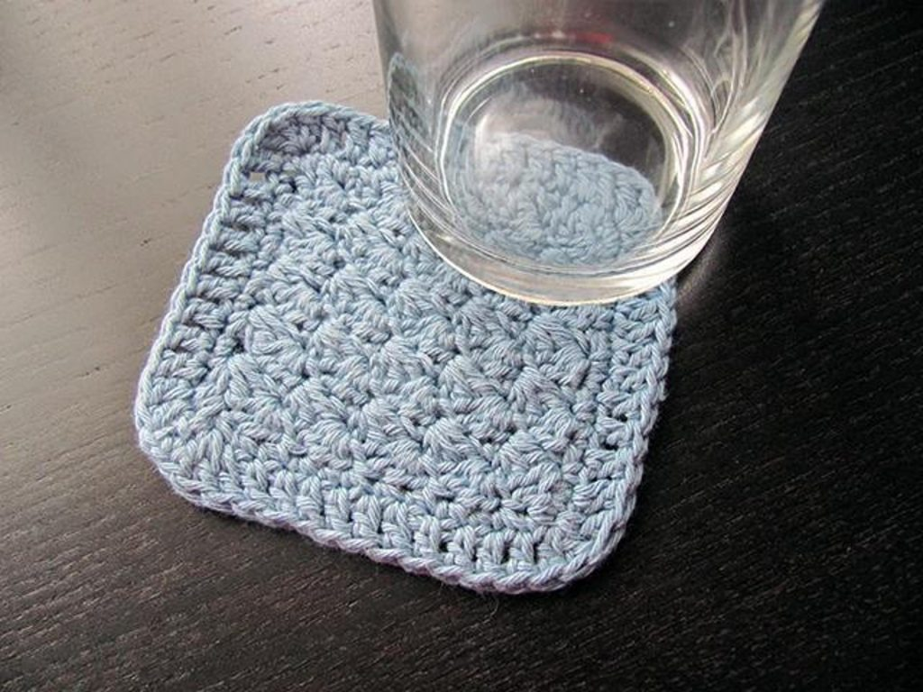 Sedge Stitch Crochet Coaster