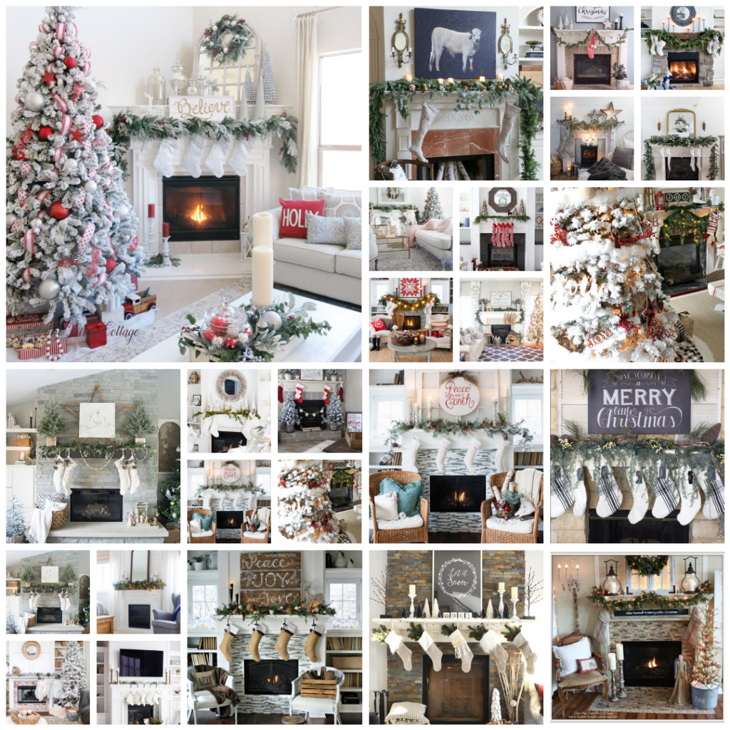 24 Classic Christmas Mantels by The Birch Cottage