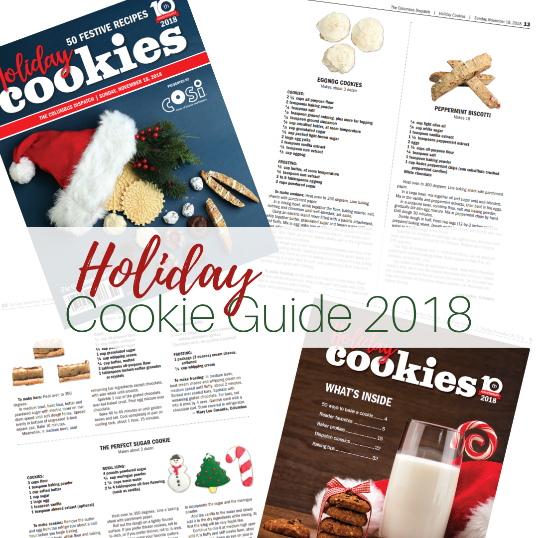 Holiday Cookie Guide 2018 by The Birch Cottage