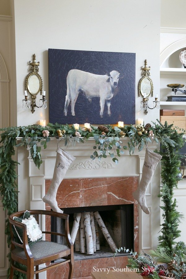 Savvy Southern Style Christmas Mante