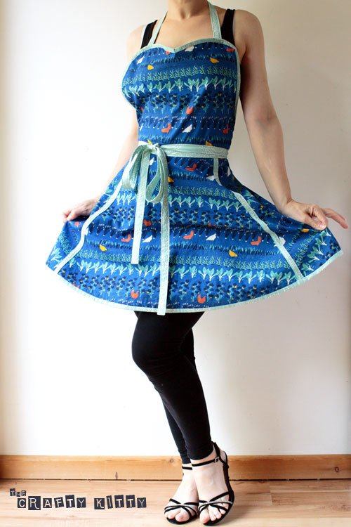 Birch Fabrics Retro Apron