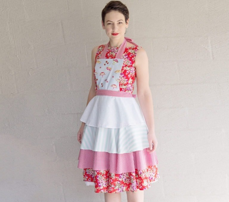 Rebecca Page Vintage Apron Sewing Pattern