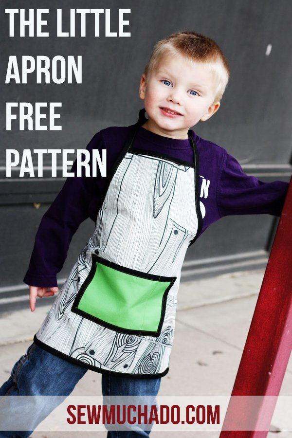Sew Much Ado Little Apron Pattern