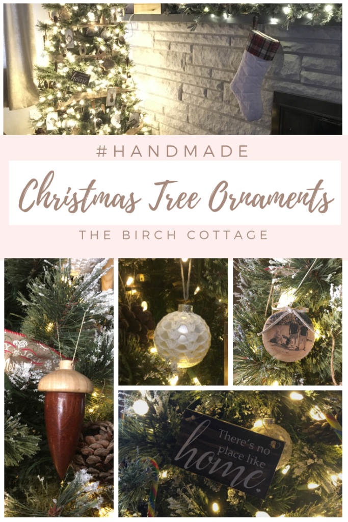 Our Handmade Christmas Tree Ornaments The Birch Cottage