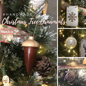 Handmade Christmas Tree Ornaments from The Birch Cottage