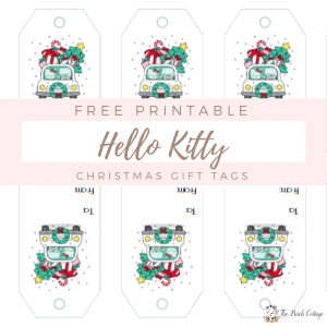 ello Kitty Christmas Gift Tags by The Birch Cottage