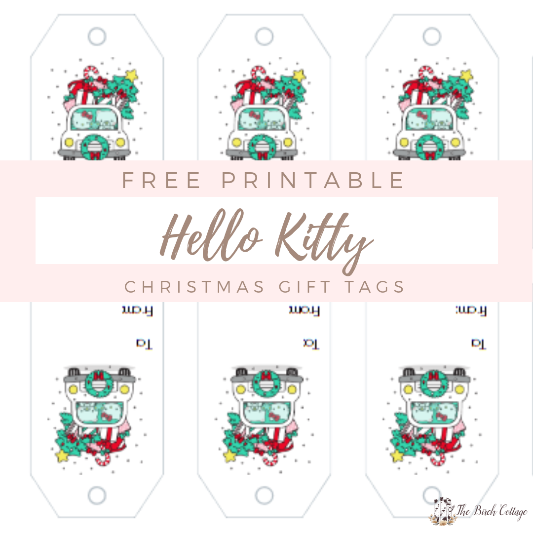 Hello Kitty Gift Tags With Avery Design Print Online