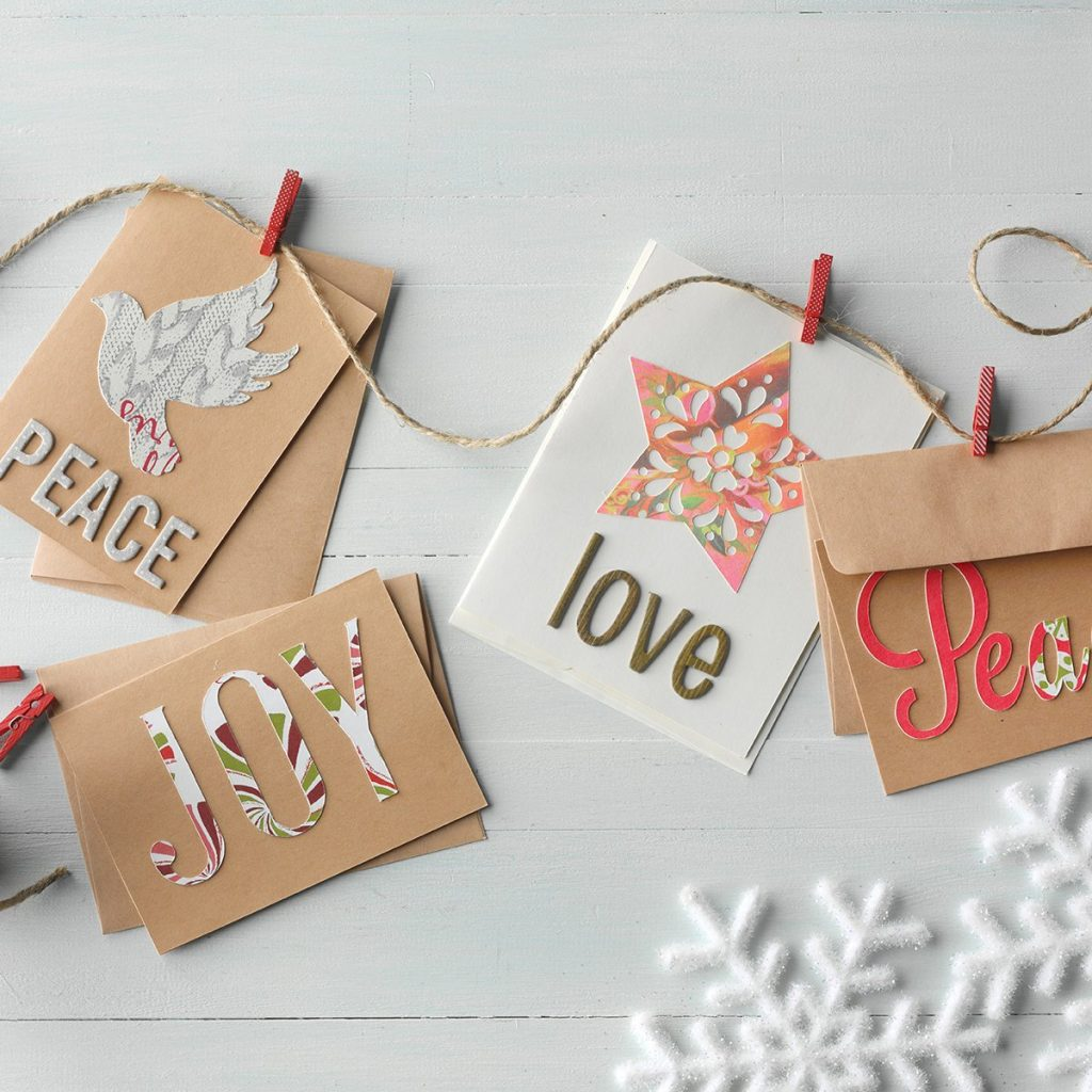 Ideas for Repurposing Christmas Cardss - Next Year's Christmas Cards
