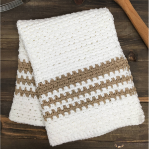 Crochet The Birch Cottage Dish Towel