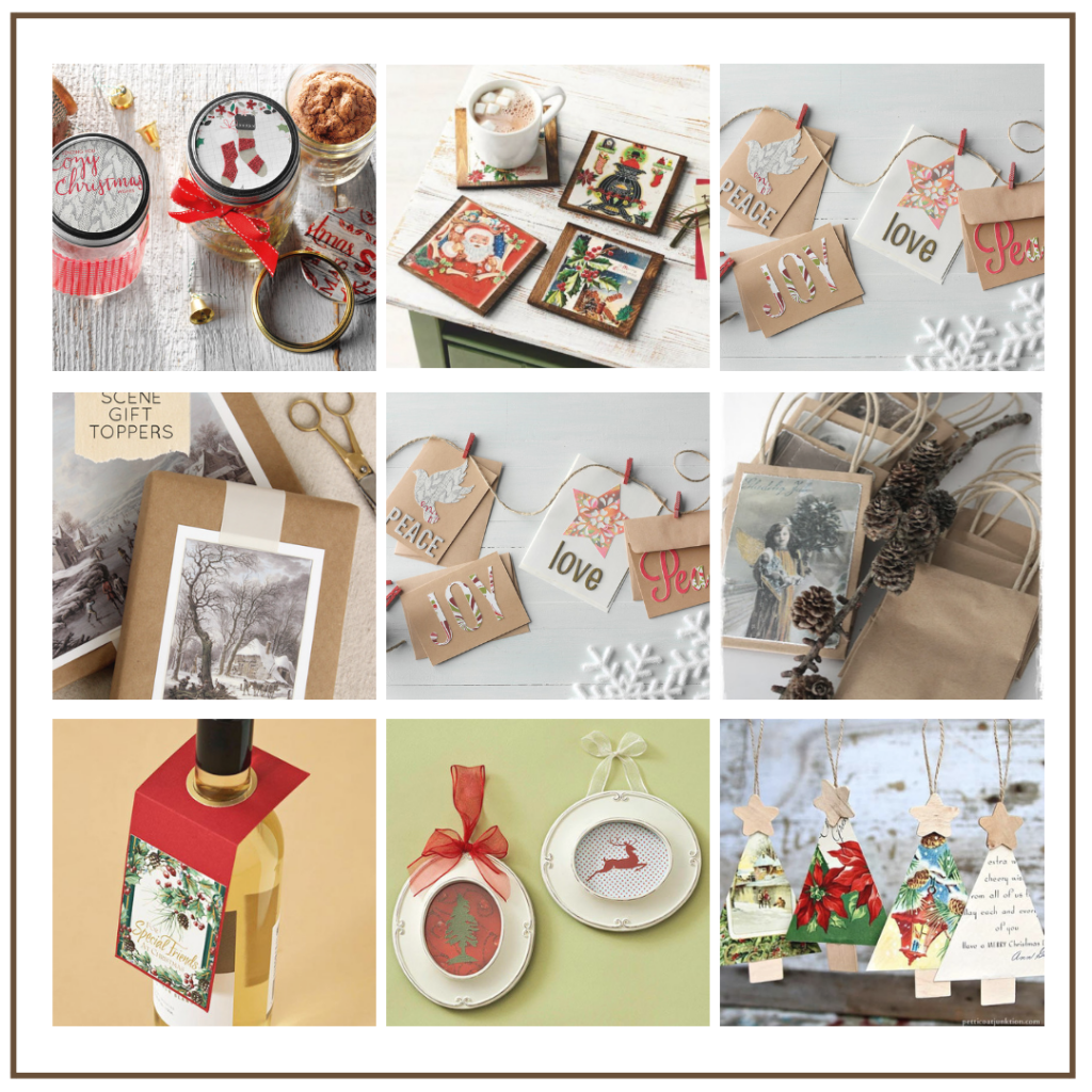 don't throw out your christmas cards ideas for