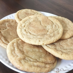 Snickerdoodle Cookie Recipe from The Birch Cottage