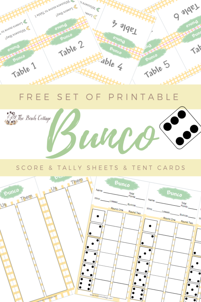 photograph relating to Bunco Rules Printable identify Spring Motivated Yellow and Environmentally friendly Bunco Printables - The