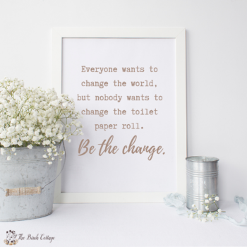 12 Bathroom Humor Prints from The Birch Cottage