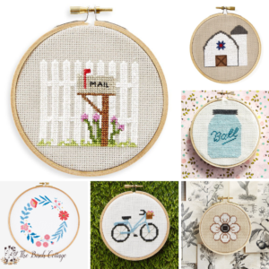 Favorite Free Cross Stitch Patterns from The Birch Cottage