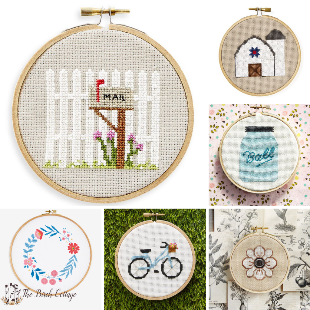 Where to Find FREE Cross Stitch Patterns - The Birch Cottage