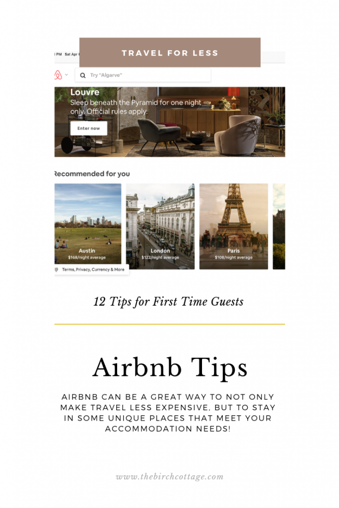 Airbnb Tips and Our First-Time Experience - The Birch Cottage