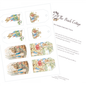 Beatrix Potter Gift Tags by The Birch Cottage