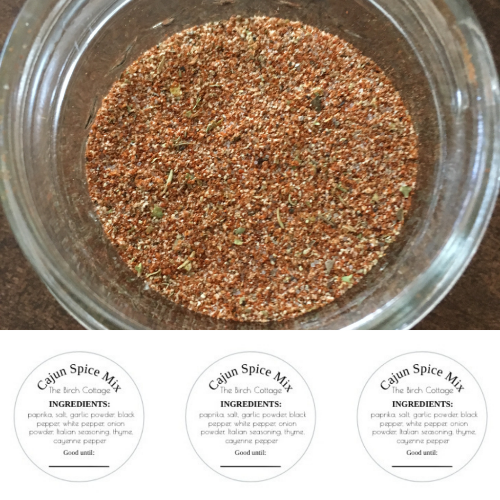 Cajun Spice Seasoning by The Birch Cottage 01