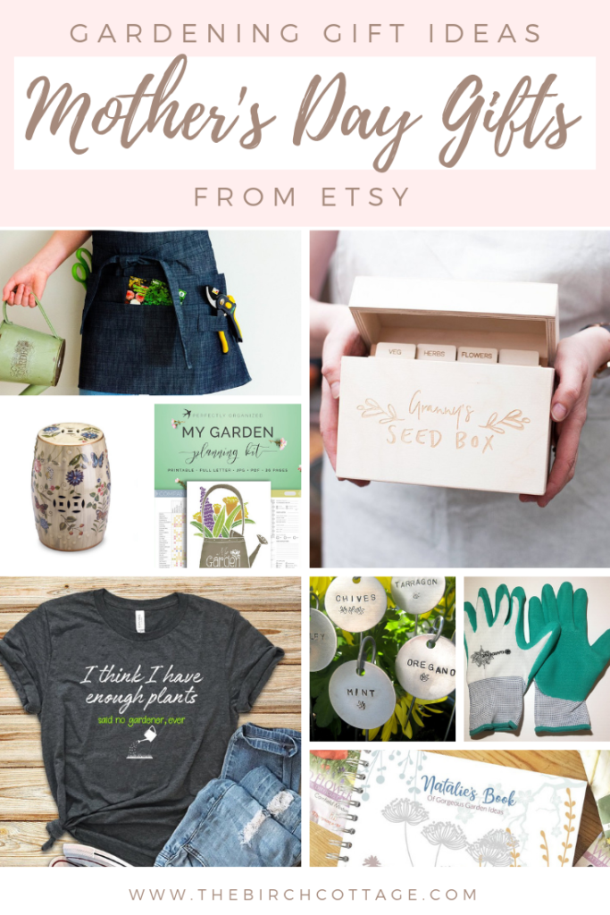 Gardening Gift Ideas from Etsy for Mother's Day