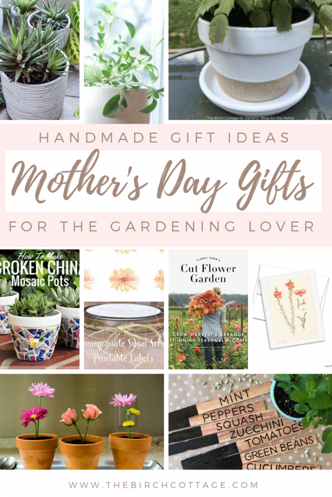 Handmade Gardening Gift Ideas for Mother's Day
