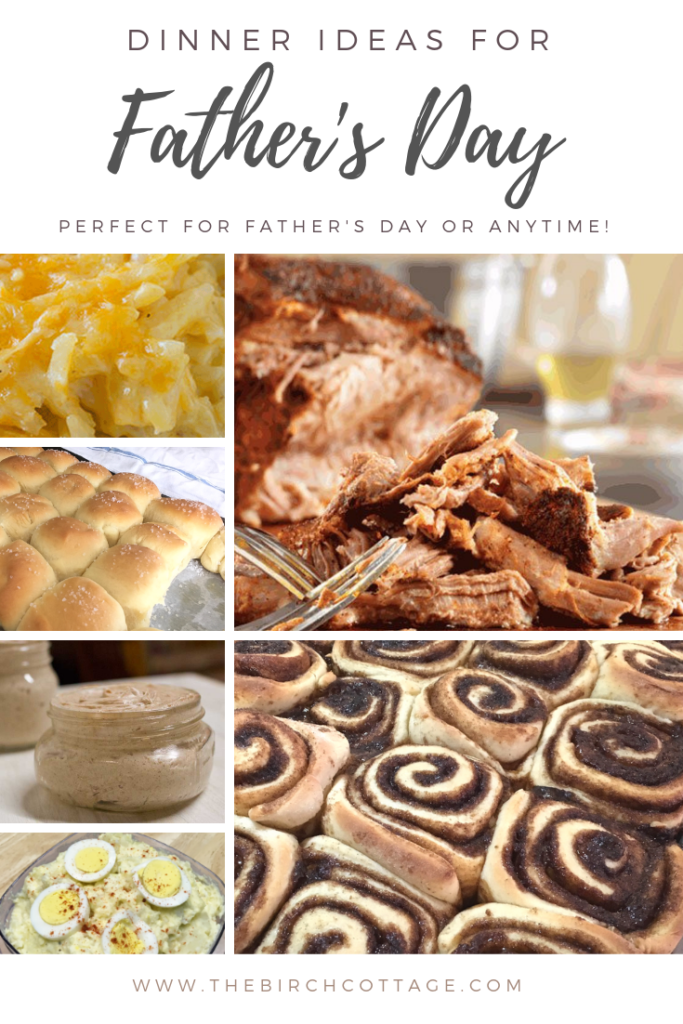 Father's Day Dinner Ideas {with low carb options} - The