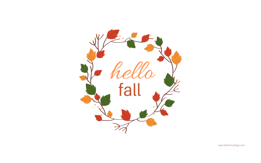 Fall Digital Wallpaper For Your Iphone Ipad Desktop The Birch Cottage