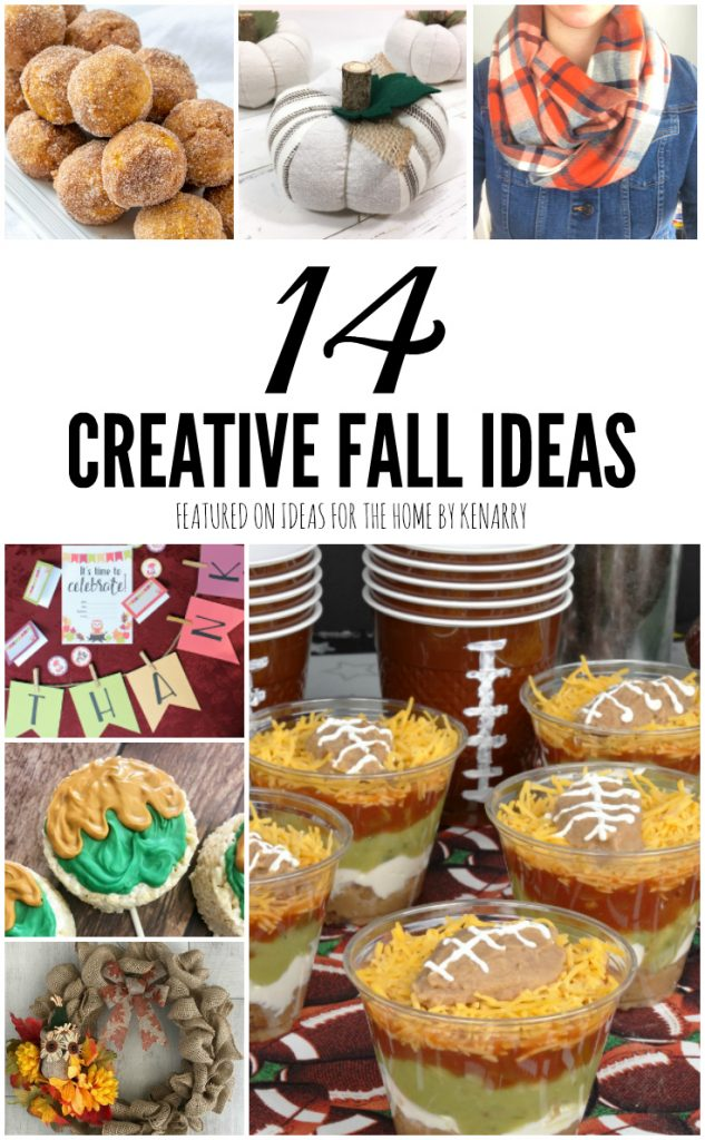 14 Creative Fall Ideas from Kenarry Creative Team