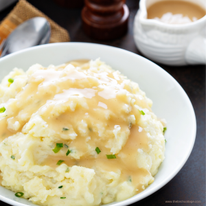 How to make creamy mashed potatoes by The Birch Cottage.
