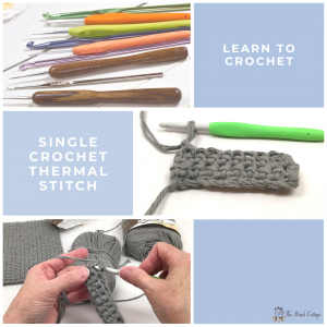 Single Crochet Thermal Stitch by The Birch Cottage